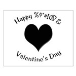 'Cursing Black Heart' Small Poster