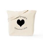 'Cursing Black Heart' Tote Bag
