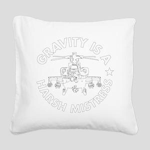 GIAHM white Square Canvas Pillow