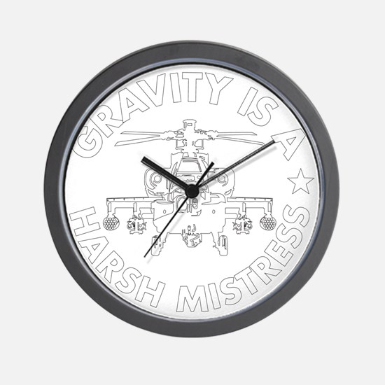 GIAHM white Wall Clock