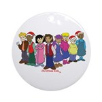 Christmas Kids Ornament (Round)