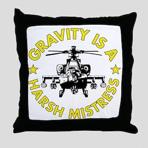 GIAHM Yellow Throw Pillow
