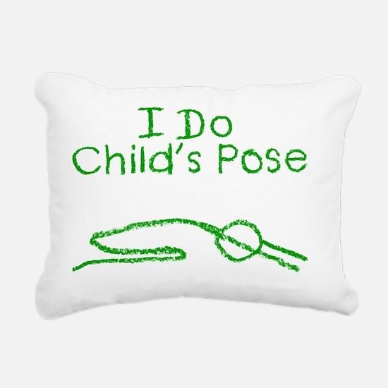 Childs G Rectangular Canvas Pillow
