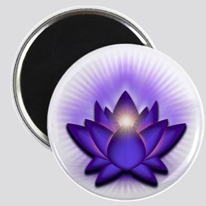 Chakra Lotus - Third Eye Purple Magnet