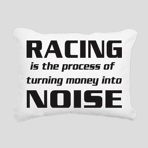 racingnoise-blk Rectangular Canvas Pillow