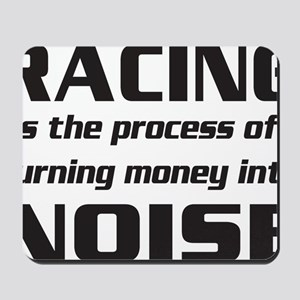 racingnoise-blk Mousepad