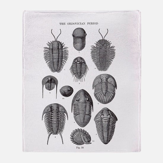 TRILOBITES Throw Blanket
