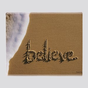 believe Throw Blanket