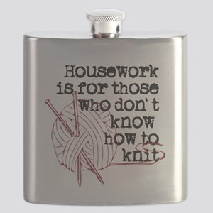 Housework for those.knit Flask