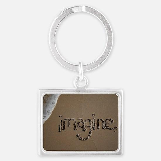 imagine Landscape Keychain