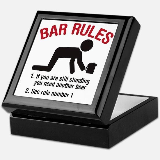 barrules copy Keepsake Box