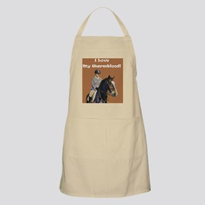i_love_my_warmblood Apron