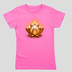 Chakra Lotus - Sacral Orange Girl's Tee
