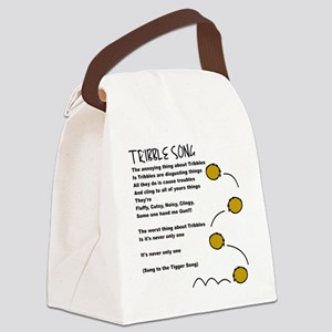 tribble song Canvas Lunch Bag