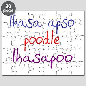 lhasapoo_black Puzzle