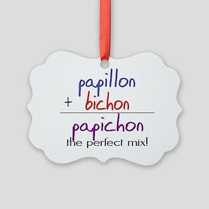 papichon Picture Ornament