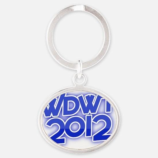 wdwtour2012WDWTlogo407x415 Oval Keychain