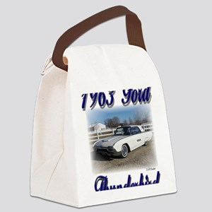 1963 Bruce 1a Canvas Lunch Bag