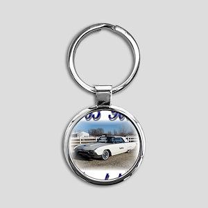1963 Bruce 1a Round Keychain