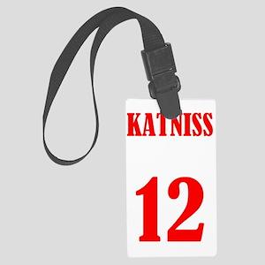 katniss Large Luggage Tag