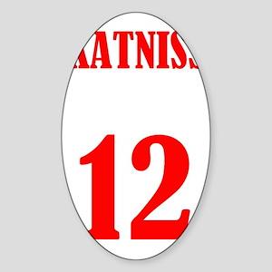 katniss Sticker (Oval)