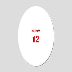 katniss 20x12 Oval Wall Decal