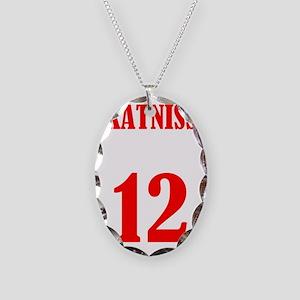 katniss Necklace Oval Charm