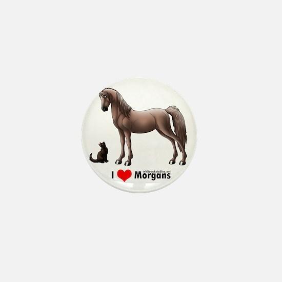 I Heart Morgans Mini Button