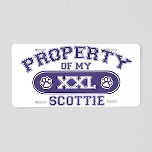 scottieproperty Aluminum License Plate