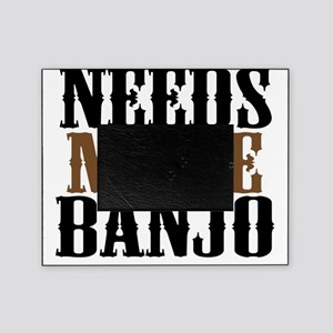 needs more banjo Picture Frame
