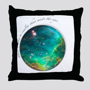 tee_reality Throw Pillow