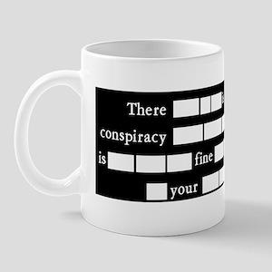 NoConspiracy-TrustGovt Mug