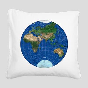 stereographic_asia_square_300 Square Canvas Pillow