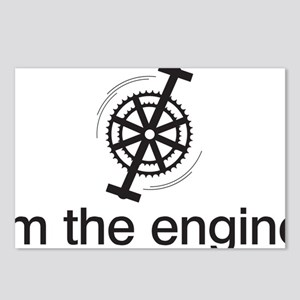 imTheEngineBLK Postcards (Package of 8)