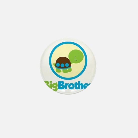 TurtleCircleBigBrother Mini Button