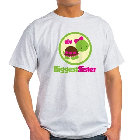 TurtleCircleBiggestSister Light T-Shirt