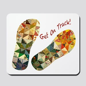Patchwork_Get on Track_Hort Mousepad