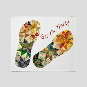 Patchwork_Get on Track_Hort Throw Blanket