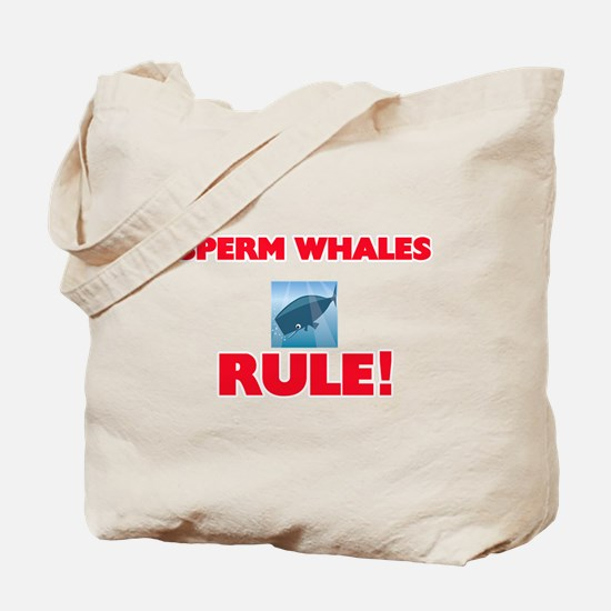 Sperm Whales Rule! Tote Bag