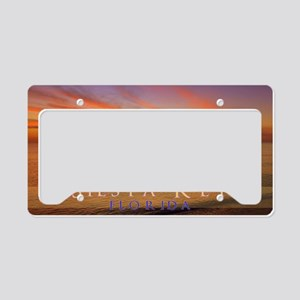 skpostcard17 License Plate Holder