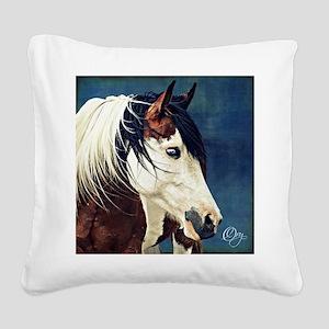 KyiaOnBlueImage Square Canvas Pillow