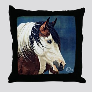 KyiaOnBlueImage Throw Pillow