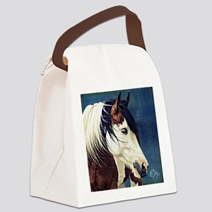KyiaOnBlueImage Canvas Lunch Bag