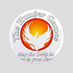"""TheHungerGames001dark 3.5"""" Button"""