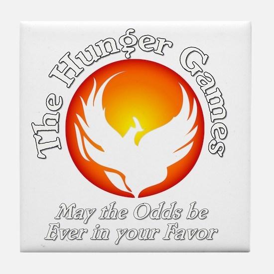 TheHungerGames001dark Tile Coaster