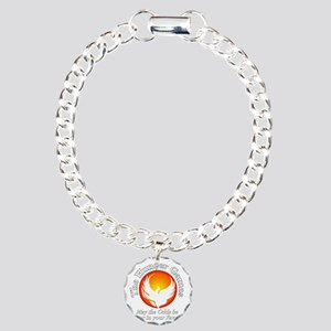 TheHungerGames001dark Charm Bracelet, One Charm