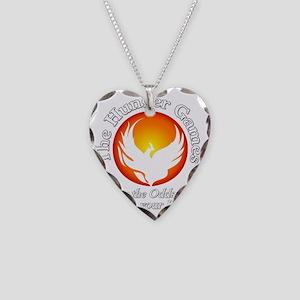 TheHungerGames001dark Necklace Heart Charm