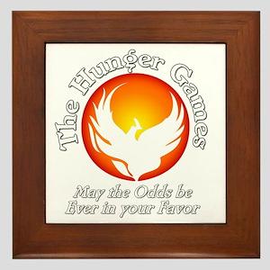 TheHungerGames001dark Framed Tile