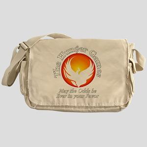 TheHungerGames001dark Messenger Bag