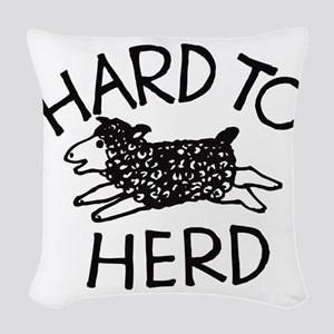 Hard to Herd Lola Woven Throw Pillow